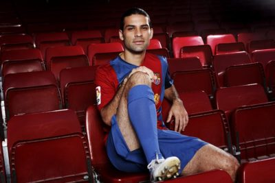 Rafa Marquez. Football player